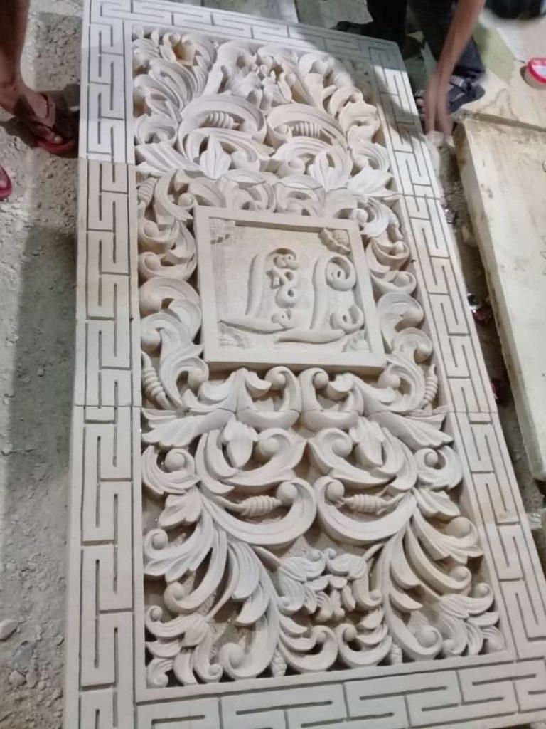 Relief-dinding-rumah